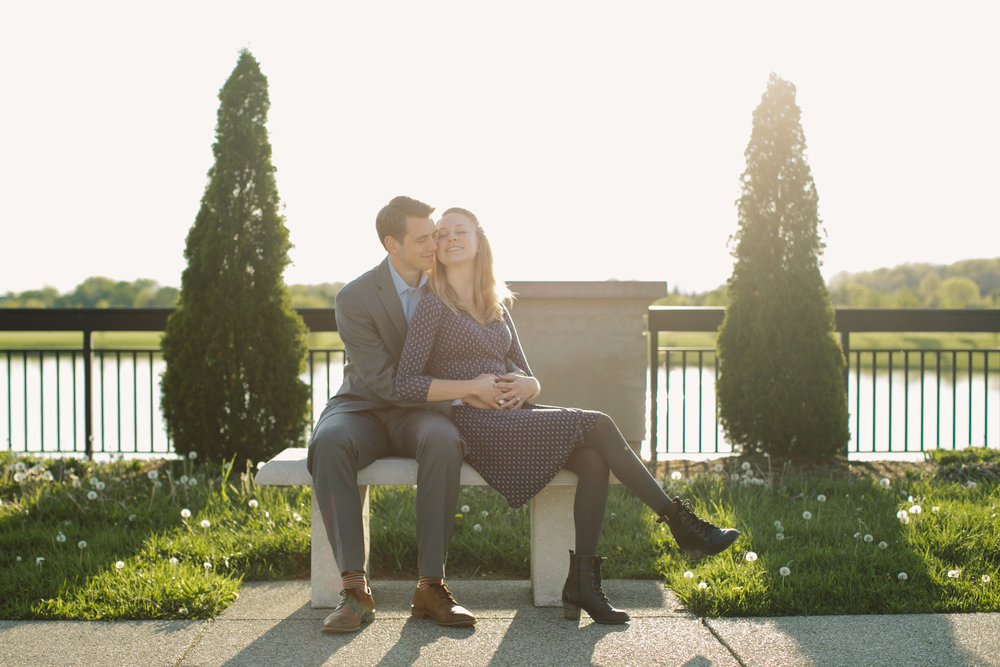 Coxhall Gardens Carmel IN Engagement Session 16