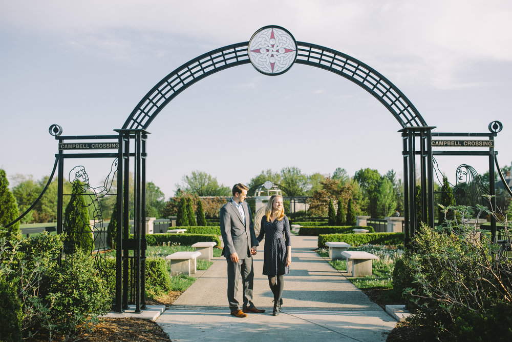 Coxhall Gardens Carmel IN Engagement Session 18