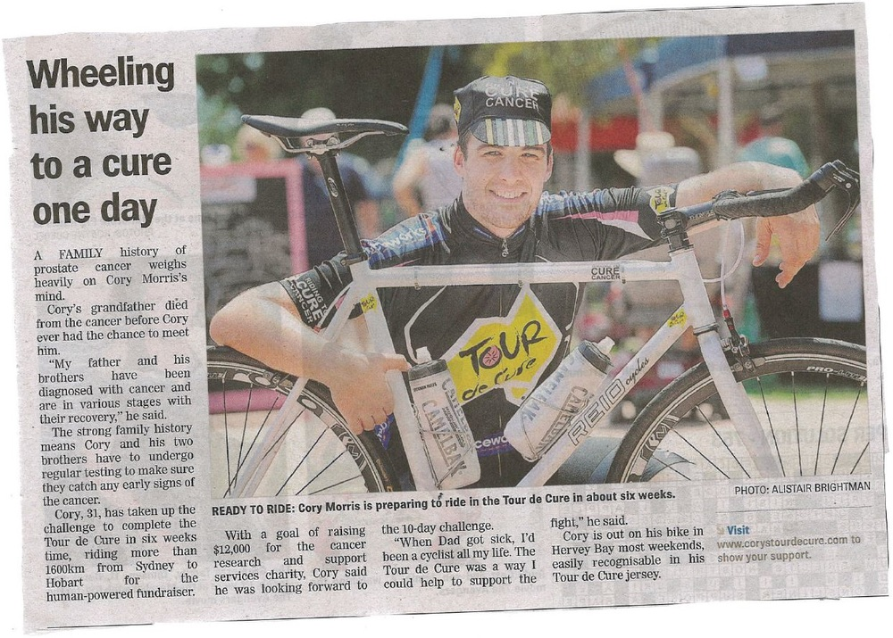 Hervey Bay News Paper - 15-1-14.JPG