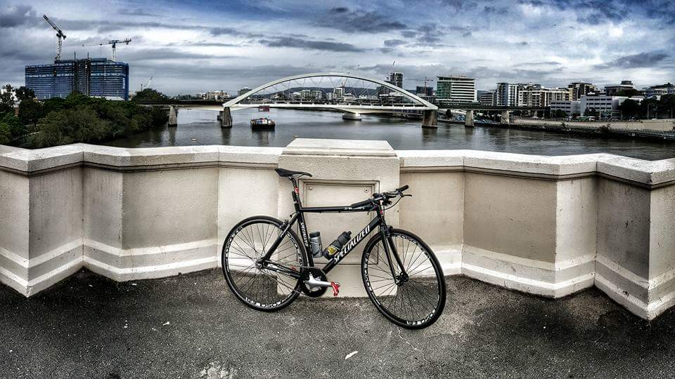 Brisbane River - Single Speed Bike