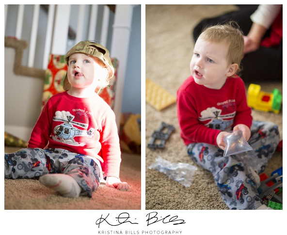 And just to show you how spunky this kid is!! haha He makes the best faces! We sure love him!!