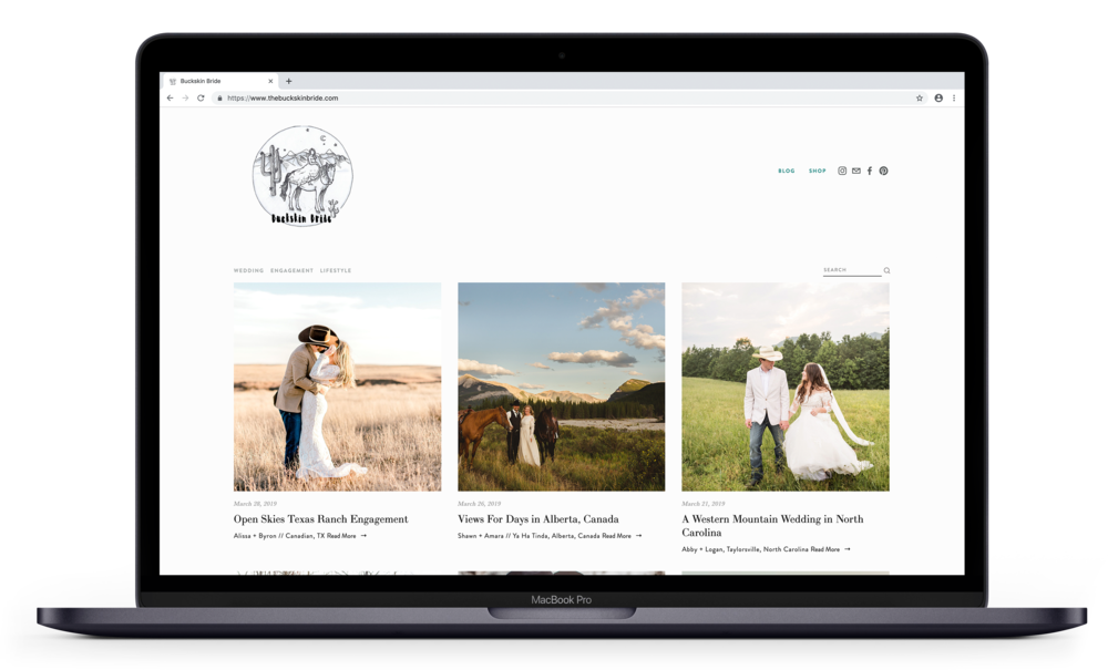 Buckskin Bride Western Wedding Blog