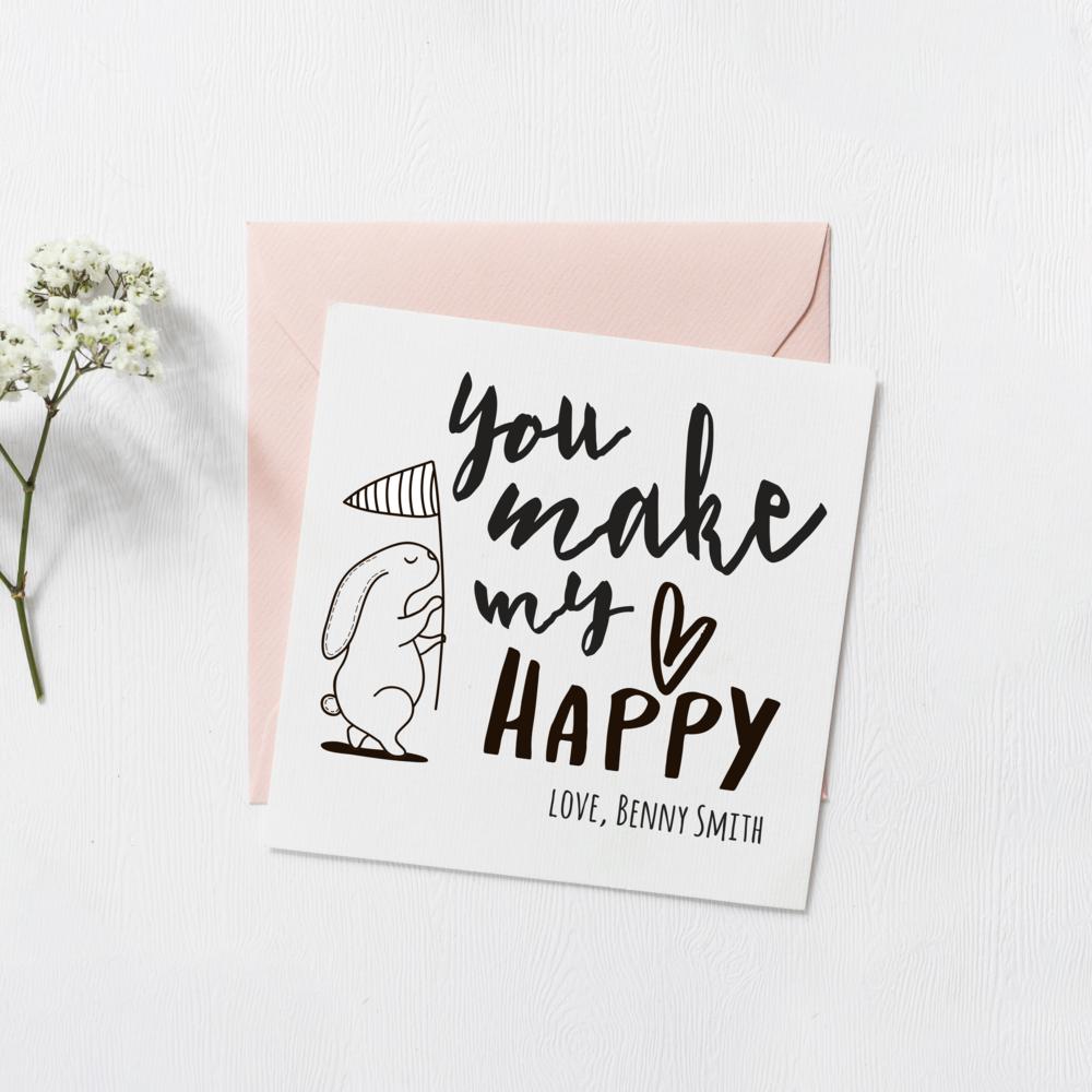 2019 Valentine's Day Card Design