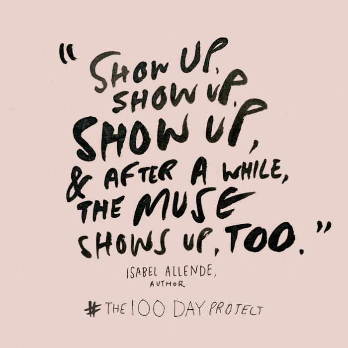 Elle Luna & The 100 Day Project Pledge