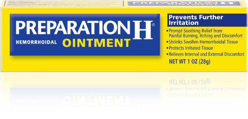 Picture of Preparation H Hemorrhoidal Ointment