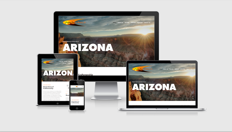 Click here to see the Canyon Sunrise Roofing website.