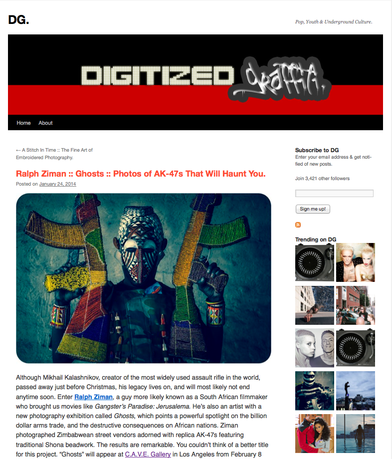 Digitized Graffiti article (click for full article)