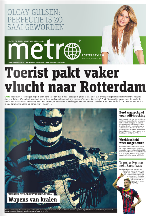 Metro International article (click for Issu)