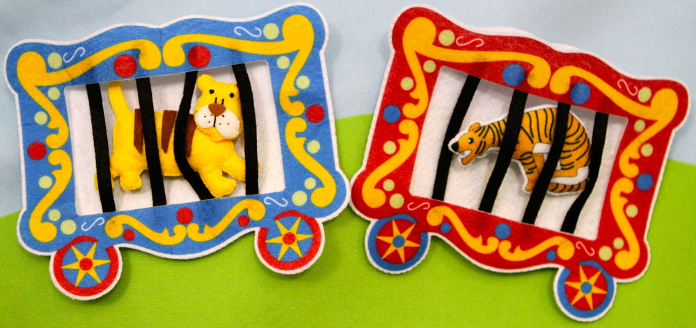 Interactive Art - Fun of the Circus Wall Hanging