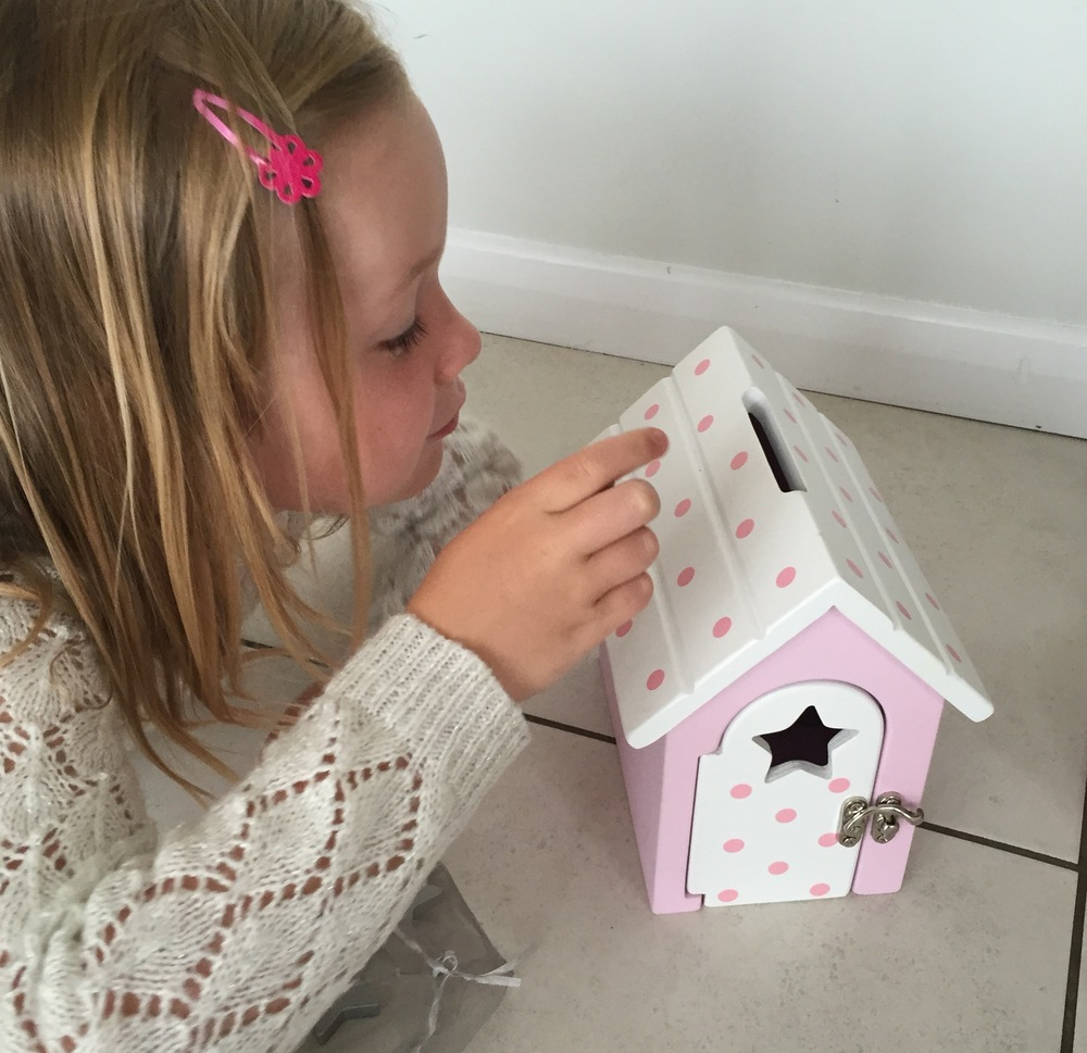 The Fairy Reward Box - a gorgeous fairy house for a little girl