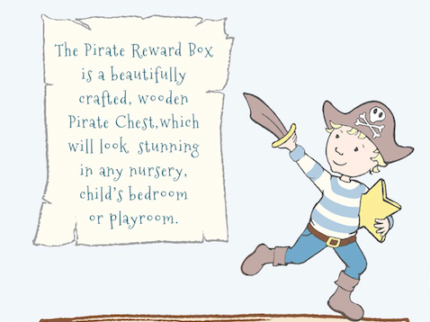 The Pirate Reward Box - a perfect boy gift