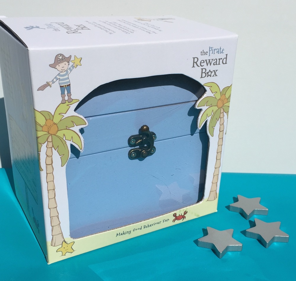 The Pirate Reward Box - a beautifully presented gift