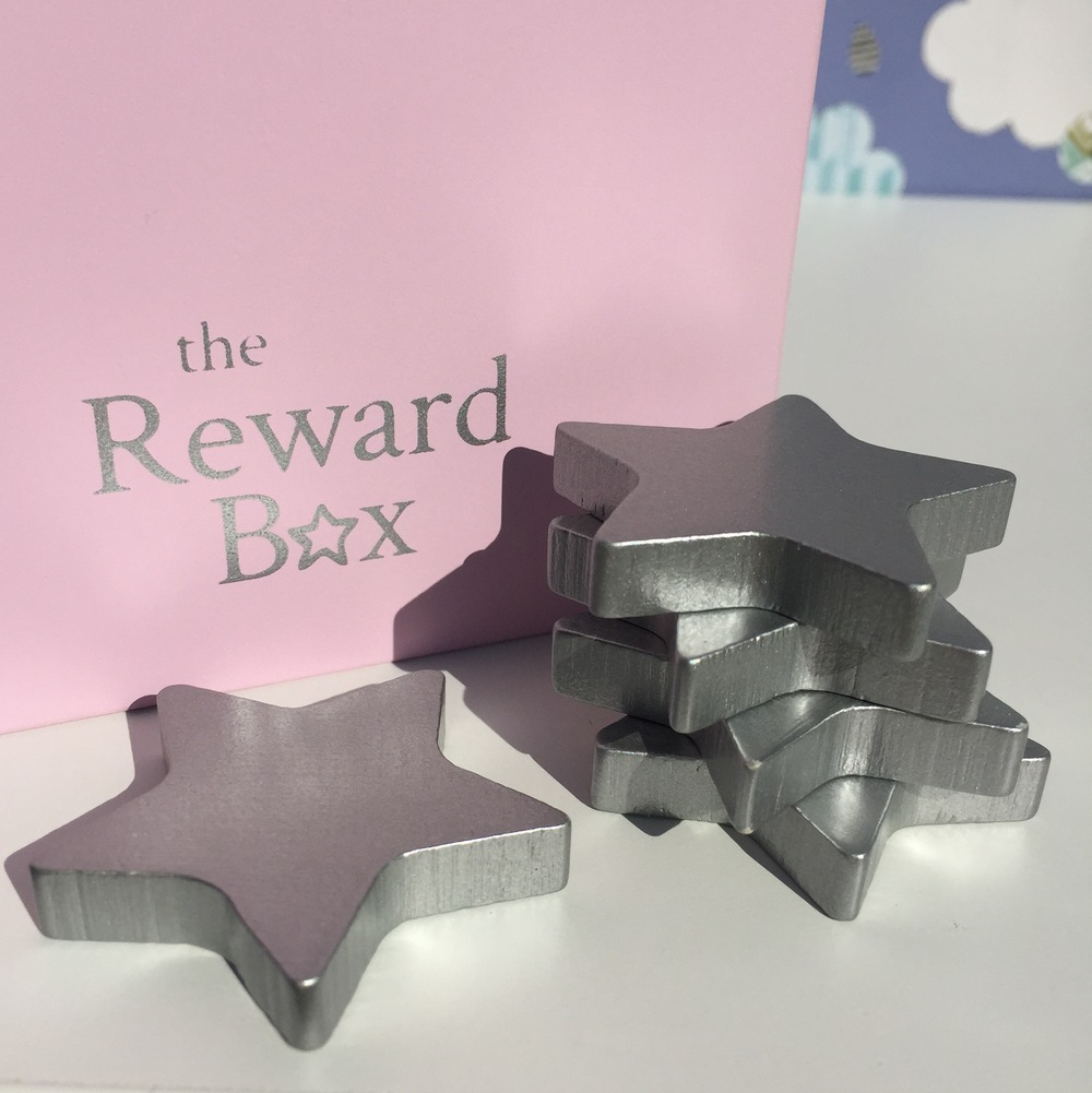 The Reward Box is beautifully crafted from wood and finished in child safe paints