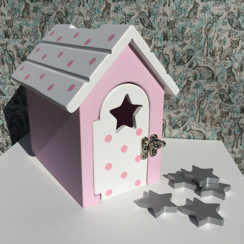 The Fairy Reward Box is a beautiful addition to a child's bedroom or playroom
