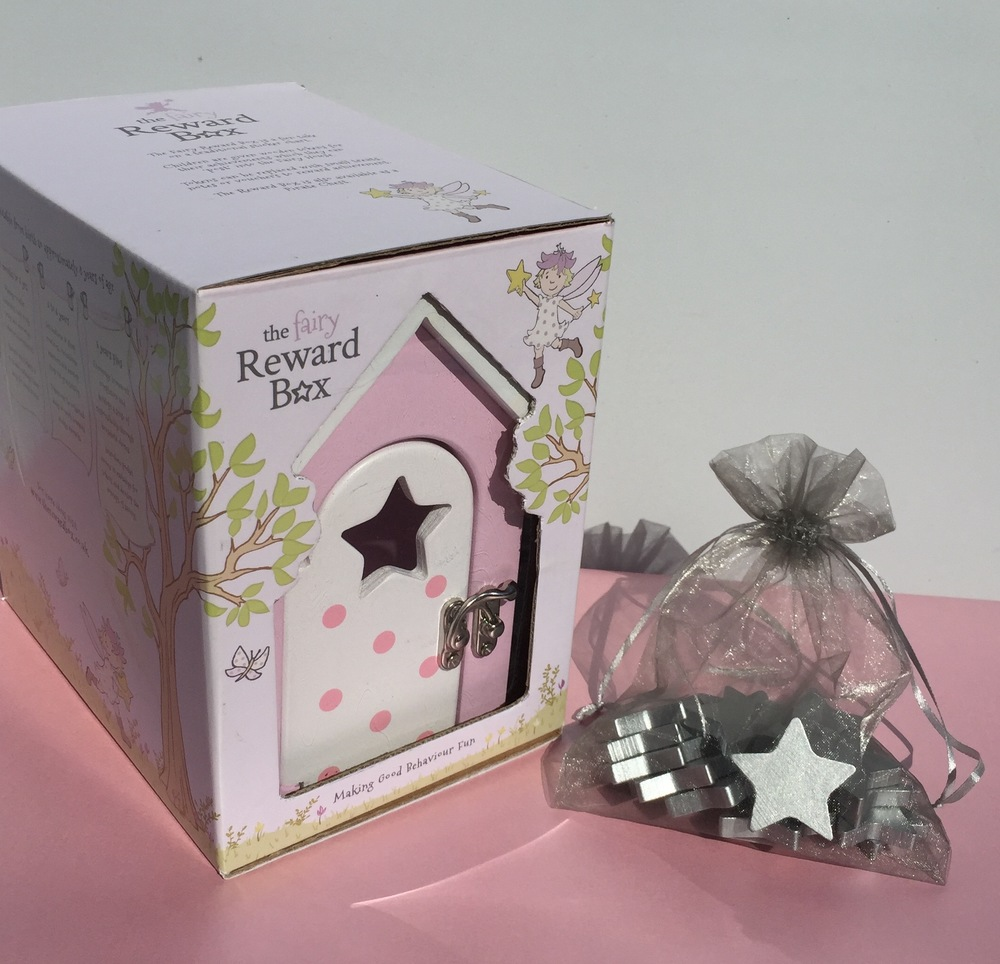 The Fairy Reward Box comes in a gorgeous presentation box
