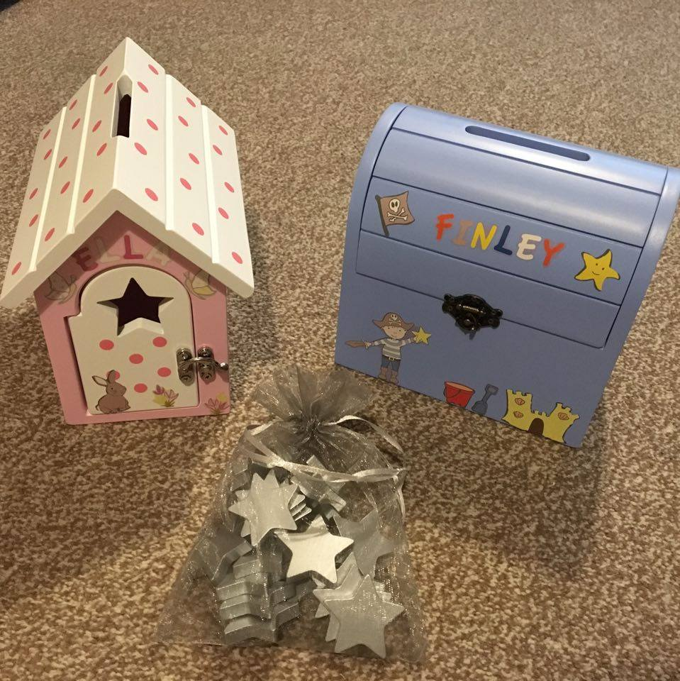 Personalised Reward Boxes from 2 happy little customers!