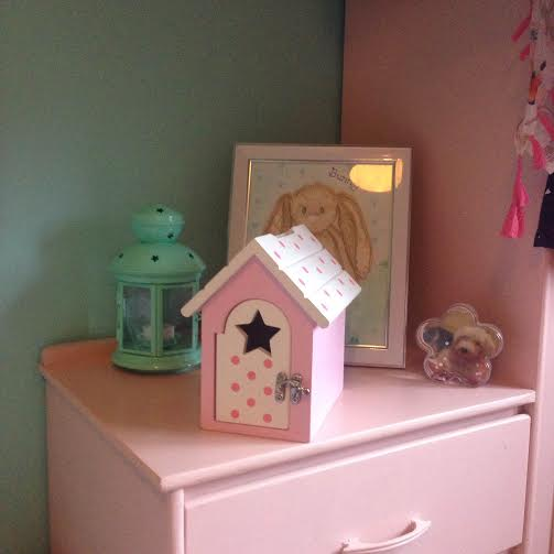EllieBabiBear The Fairy Reward Box makes a beautiful addition to a nursery