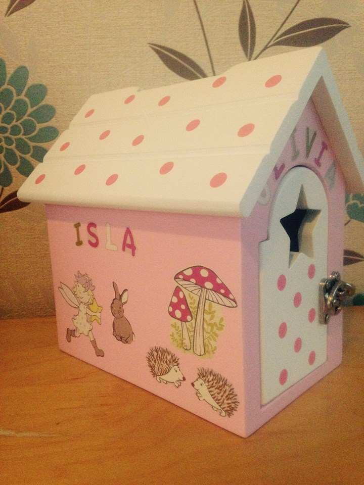 The Reward Box personalised by customer - Isla