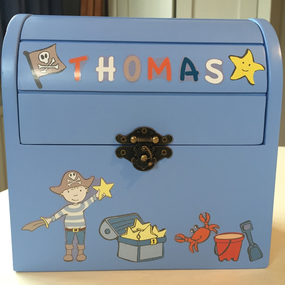 The Reward Box personalised by customer - Thomas