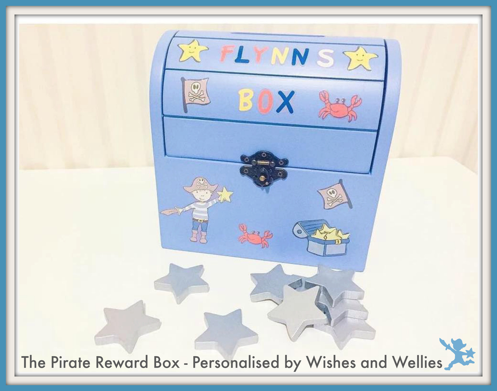 The Pirate Reward Box as featured by Wishes and Wellies