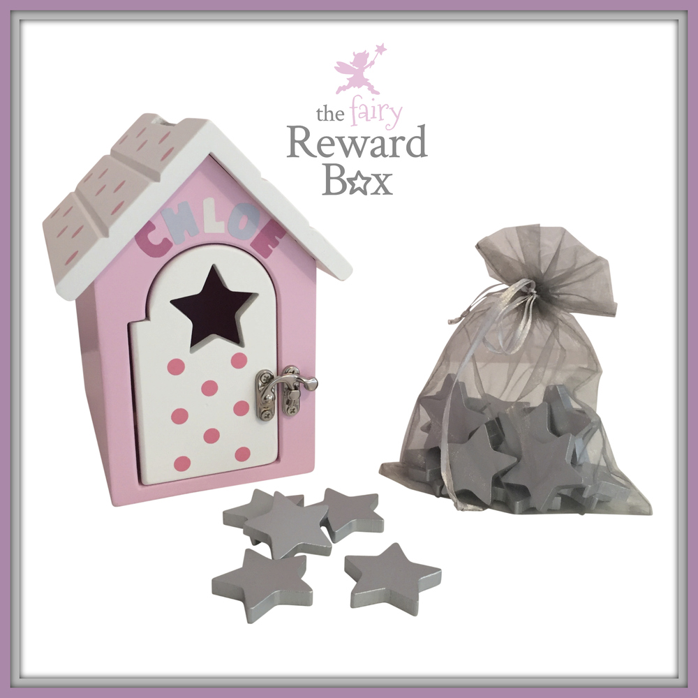 The Fairy Reward Box personalised with stars