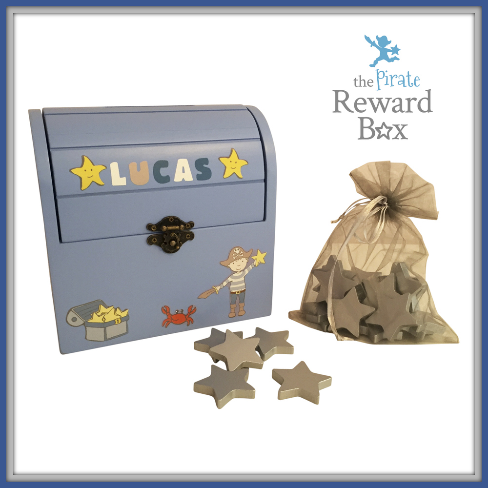 The Pirate Reward Box with stars