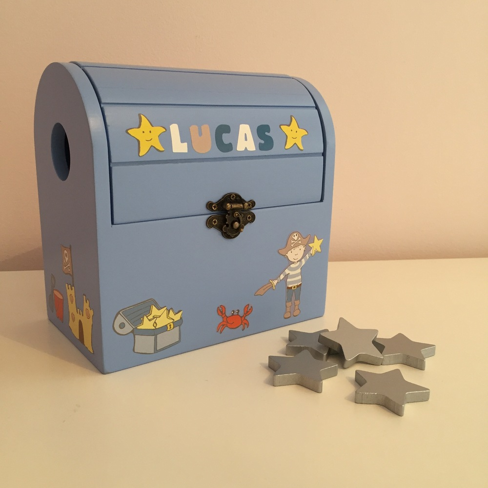 The Pirate Reward Box personalised for Lucas