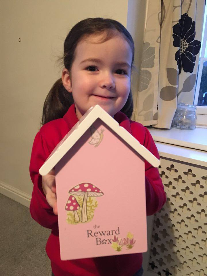 Little Girl Personalised Reward Box