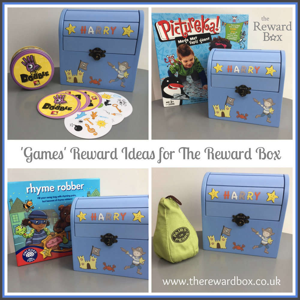 The Reward Box Games Ideas