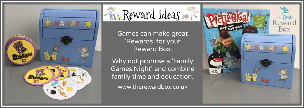 The Reward Box - Reward Ideas - Games