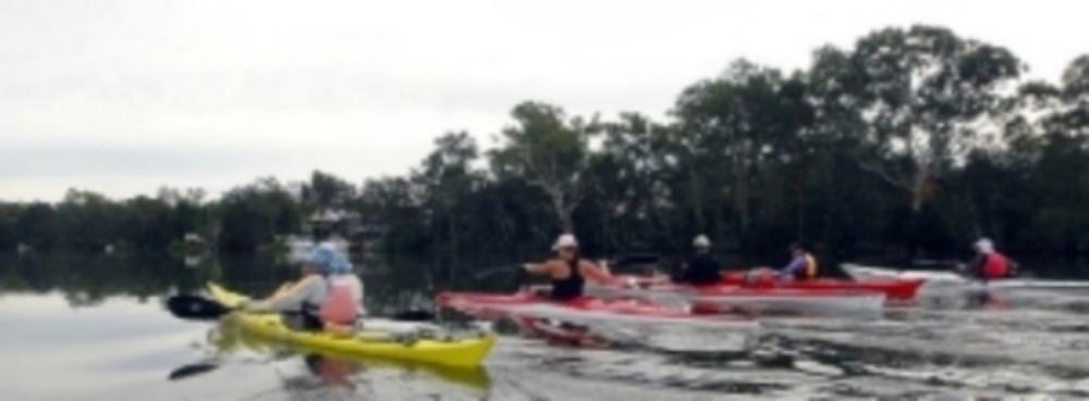 L - R Owen Walton, Marni Smart, Mark Bretag, Anne Moore & Darren Forbes - heading up Dora Creek