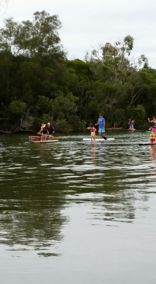 Juniors having fun on Cockle Creek