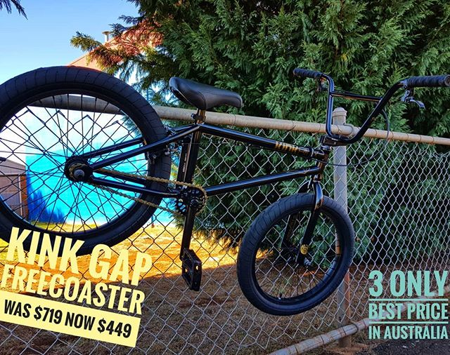 Rippa deal on a @kinkbmx Gap with freecoaster hub. Three only. Won't last.
