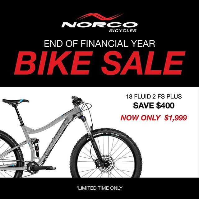 MORE DEALS @norcobikesaus