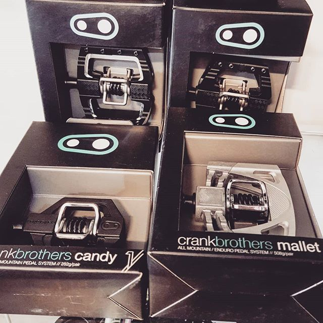 @crankbrothers pedal end of year clear out. 35% off. These four pairs only. Get in quick.