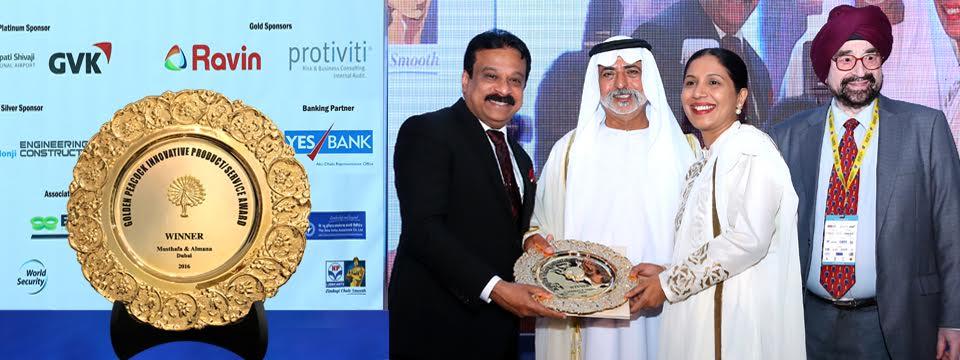 Golden Peacock Award Winner 2016