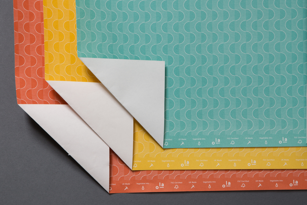 ola stationery pattern papers