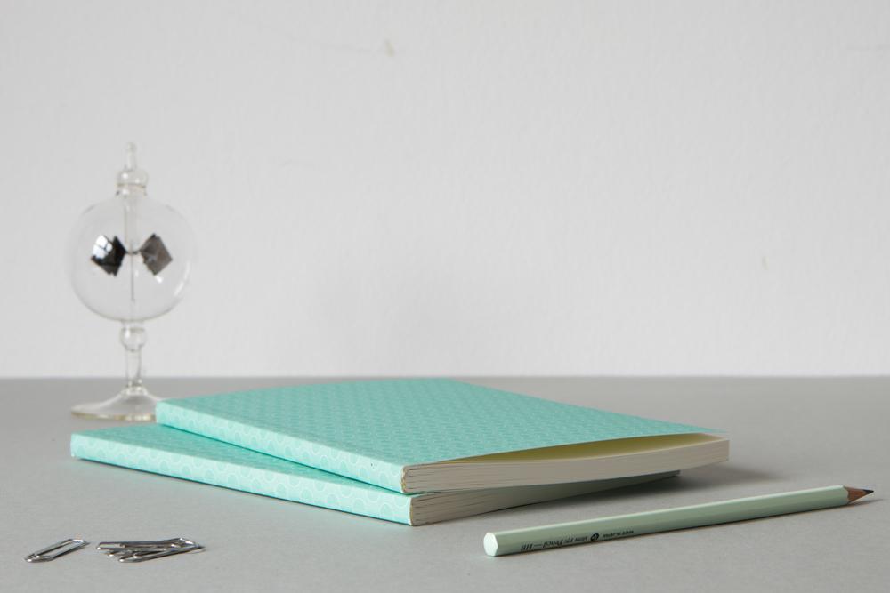 ola stationery layflat notebook