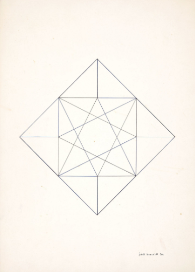 Judith Lauand, Concreto 132, Acervo178, 1958 Ink on Paper.png