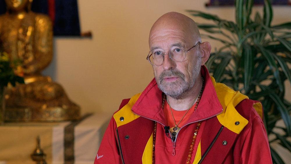 Dr. med. Wilfried Reuter, 63, Arzt und buddhistischer Lehrer