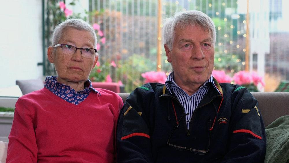 Dora Pregla, 78, Verwaltungsangestellt  Richard Pregla, 74, technischer Funktionsprüfer