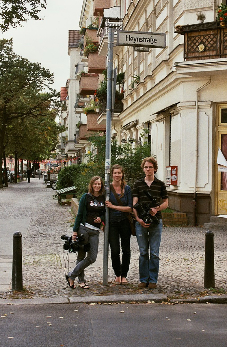 Kamerafrau Wiebke Becker, Regisseurin Maren Heyn, Kameramann David Wesemann
