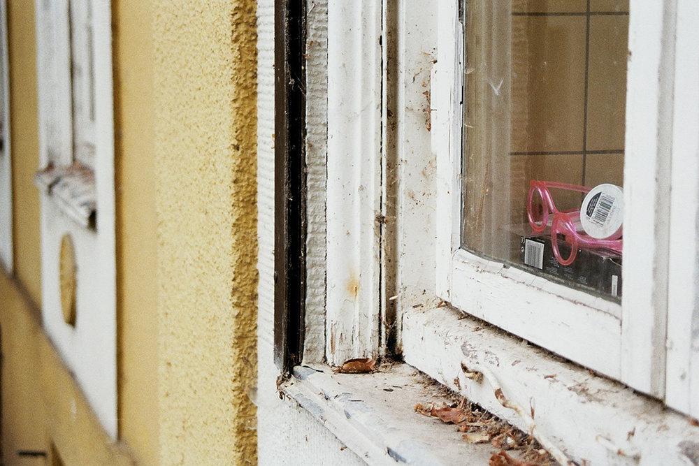 Besuch der Kinderheimes von Hauke Heyn - kurz vor dem Abriss