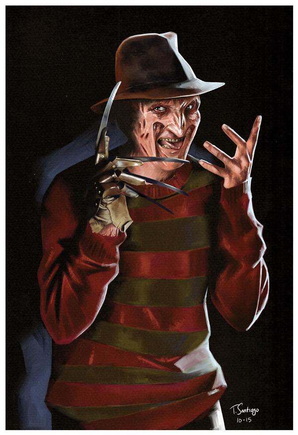 Freddy Krueger Tony Santiago
