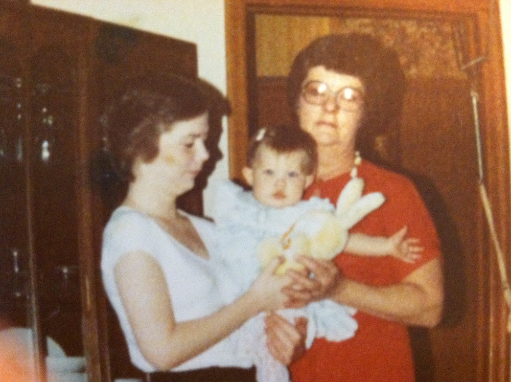 Rochelle, her mother and grandmother