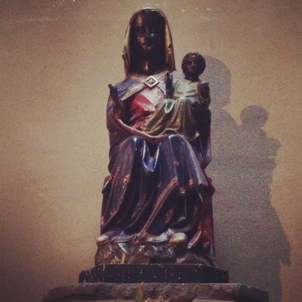 In Riom, Rochelle had her first meeting with the blessed phenomenon of Black Madonnas so popular throughout France.