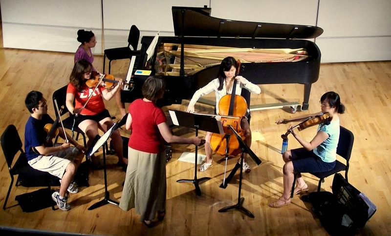 Dvorak Piano Quintet coaching