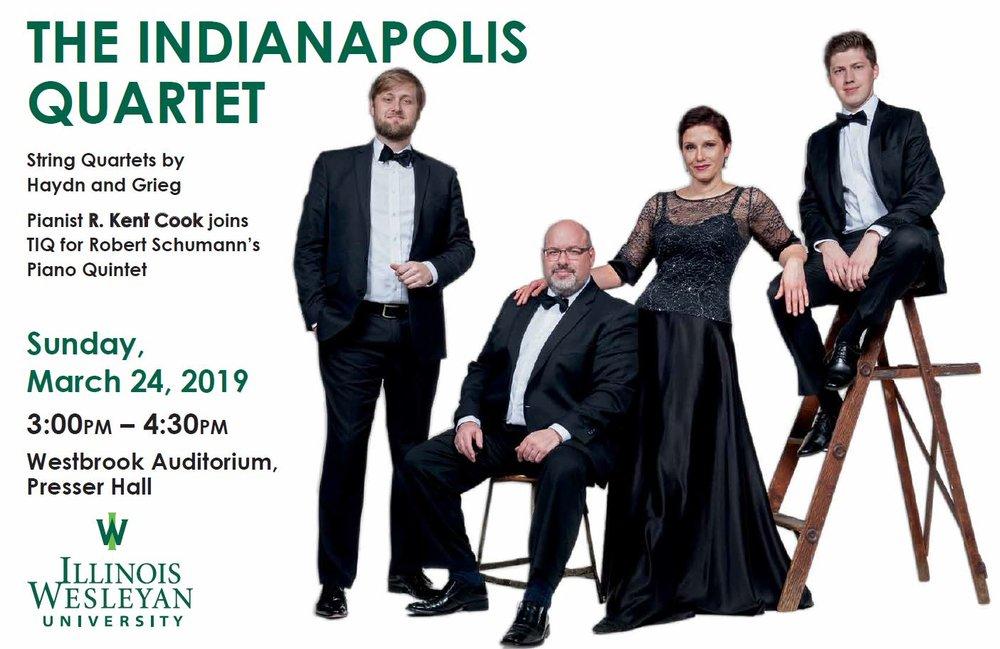 The Indianapolis Quartet, 2019