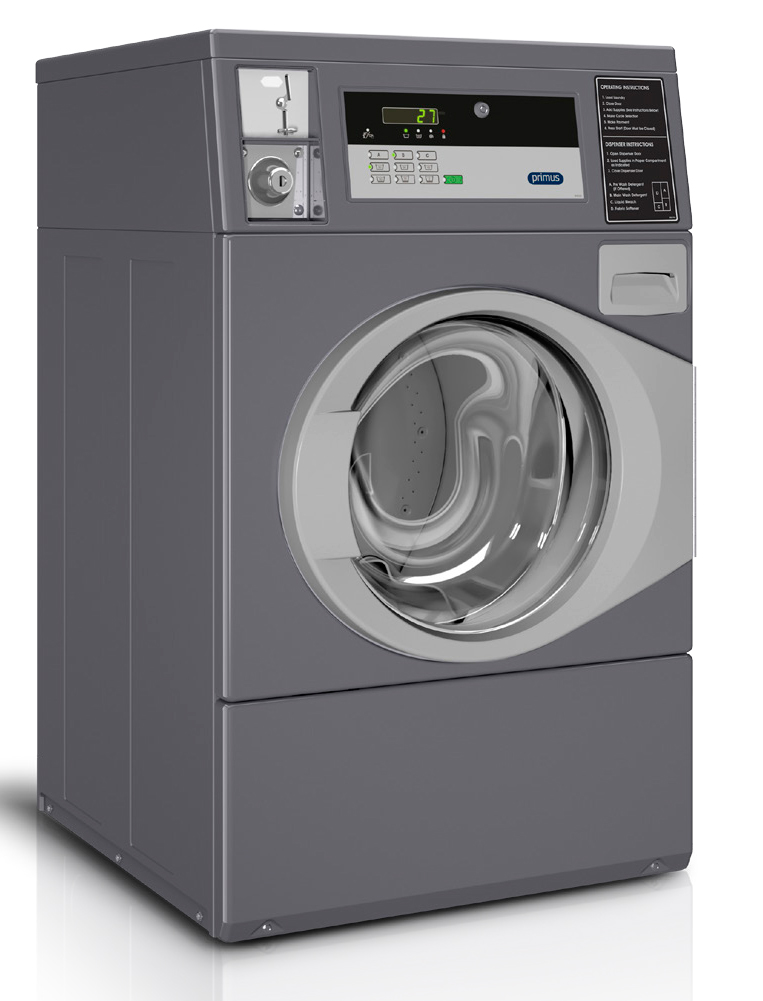 Equipment Marketers & Primus Vended Front Load Washer