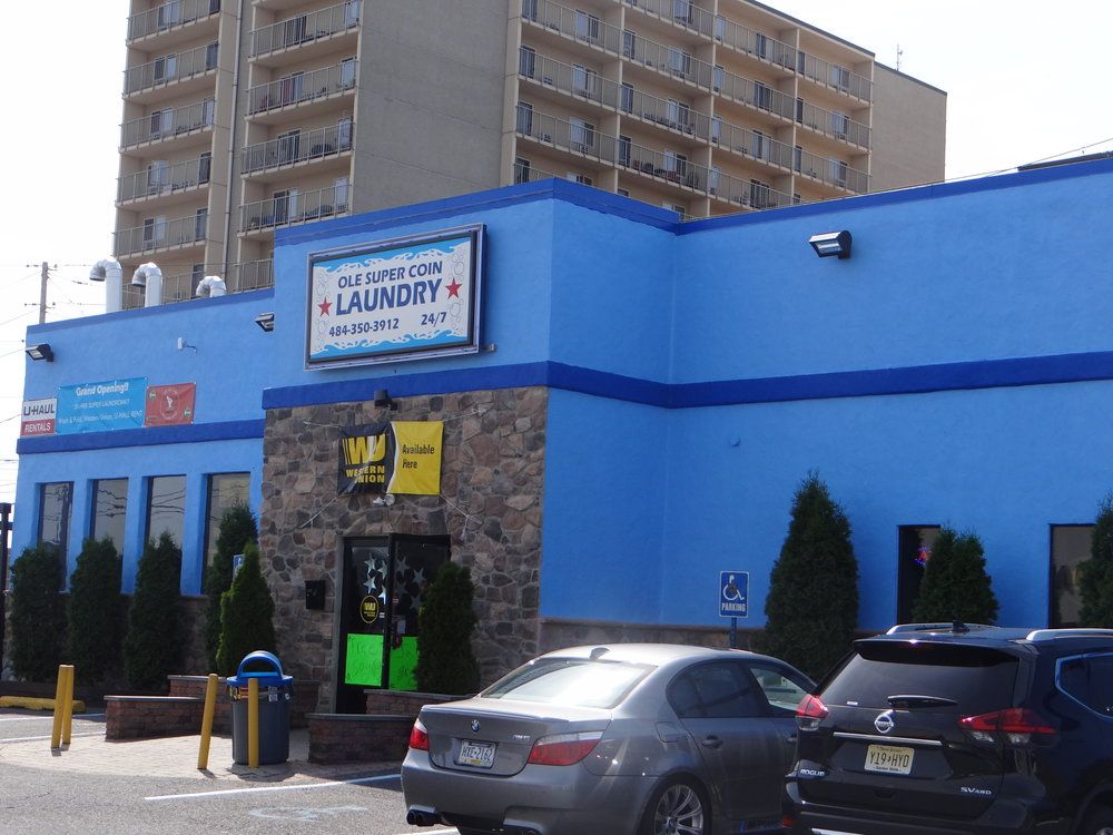 The exterior of Ole Laundromat, centrally located in Allentown. The city was cited as a success story in a report by the Urban Land Institute that examines the abilities of smaller communities to leverage their strengths and position themselves as attractive places to live, work and invest. )